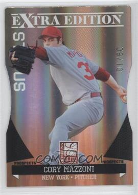 2011 Donruss Elite Extra Edition Prospects Gold Status Die-Cut #4 - Cory Mazzoni /10