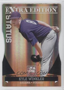 2011 Donruss Elite Extra Edition Prospects Gold Status Die-Cut #48 - Kyle Winkler /10