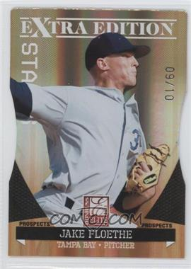 2011 Donruss Elite Extra Edition Prospects Gold Status Die-Cut #88 - Jake Floethe /10