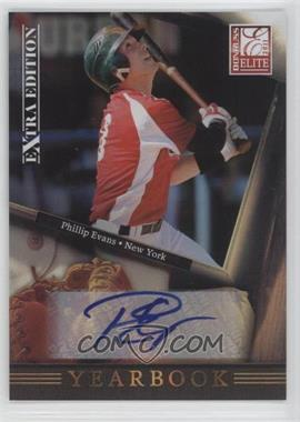 2011 Donruss Elite Extra Edition Yearbook Signatures [Autographed] #11 - Phillip Evans /246