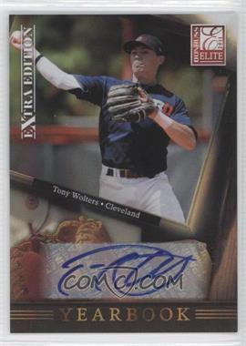 2011 Donruss Elite Extra Edition Yearbook Signatures [Autographed] #13 - Tony Wolters /221