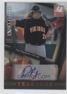 2011 Donruss Elite Extra Edition Yearbook Signatures [Autographed] #15 - Dan Vogelbach /199