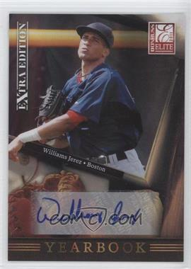 2011 Donruss Elite Extra Edition Yearbook Signatures [Autographed] #16 - Williams Jerez /184