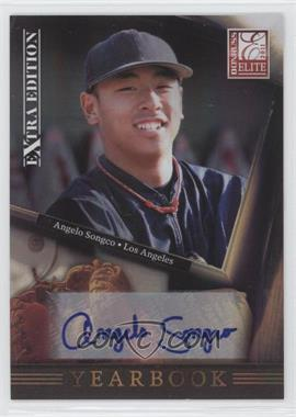 2011 Donruss Elite Extra Edition Yearbook Signatures [Autographed] #20 - Angelo Songco /221