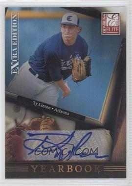 2011 Donruss Elite Extra Edition Yearbook Signatures [Autographed] #7 - Ty Linton /199