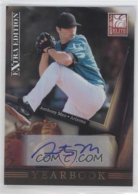 2011 Donruss Elite Extra Edition Yearbook Signatures [Autographed] #9 - Anthony Meo /499