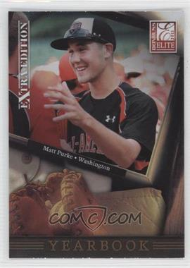 2011 Donruss Elite Extra Edition Yearbook #1 - Matt Purke