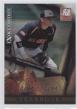 2011 Donruss Elite Extra Edition Yearbook #14 - Nick Castellanos