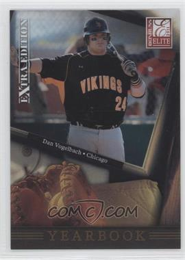2011 Donruss Elite Extra Edition Yearbook #15 - Dan Vogelbach