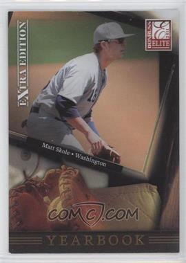 2011 Donruss Elite Extra Edition Yearbook #17 - Matt Skole
