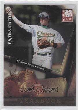 2011 Donruss Elite Extra Edition Yearbook #2 - Christian Lopes