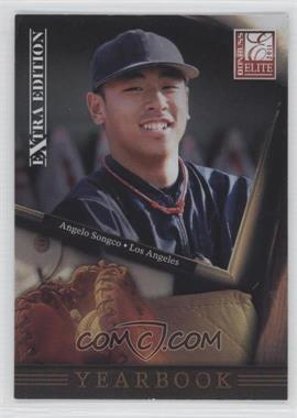 2011 Donruss Elite Extra Edition Yearbook #20 - Angelo Songco