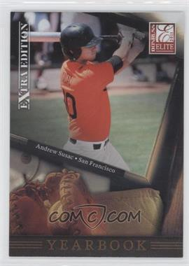 2011 Donruss Elite Extra Edition Yearbook #3 - Andrew Susac