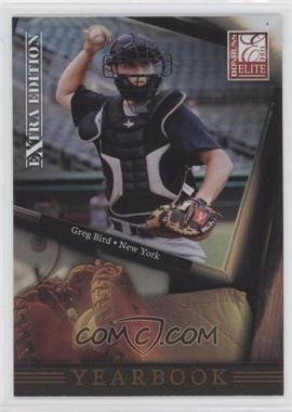 2011 Donruss Elite Extra Edition Yearbook #6 - Greg Bird