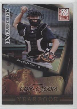 2011 Donruss Elite Extra Edition Yearbook #6 - Greg Bird