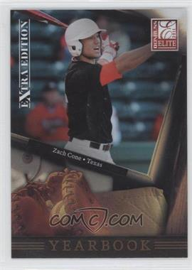 2011 Donruss Elite Extra Edition Yearbook #8 - Zach Cone