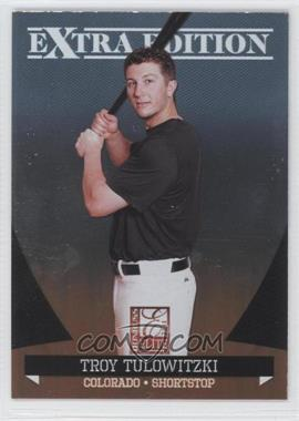 2011 Donruss Elite Extra Edition #24 - Troy Tulowitzki
