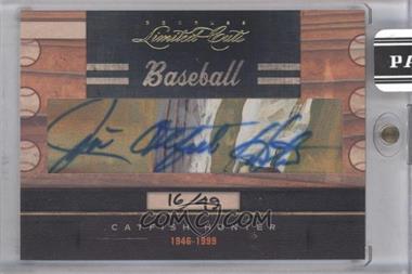 2011 Donruss Limited Cuts Cut Signatures - [Base] - [Autographed] #53 - Catfish Hunter /49