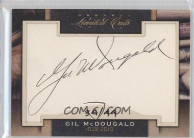 2011 Donruss Limited Cuts Cut Signatures [Autographed] #145.1 - Gil McDougald