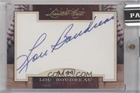 Lou Boudreau /49 [ENCASED]