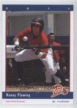 2011 Grandstand Danville Braves - [Base] #1 - Kenny Fleming