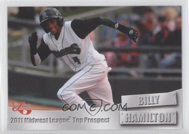 2011 Grandstand Midwest League Top Prospects - [Base] #N/A - Billy Hamilton