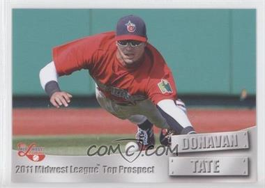 2011 Grandstand Midwest League Top Prospects - [Base] #N/A - Donavan Tate