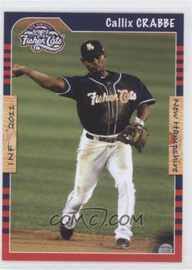 2011 Grandstand New Hampshire Fisher Cats - [Base] #CACR - Callix Crabbe