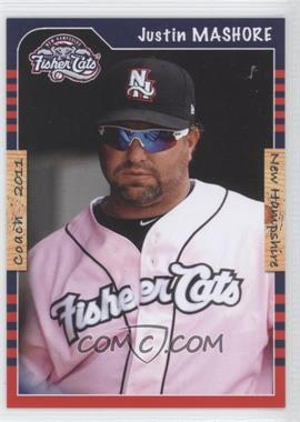 2011 Grandstand New Hampshire Fisher Cats - [Base] #JUMA - Justin Mashore