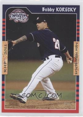 2011 Grandstand New Hampshire Fisher Cats #BOKO - Bobby Korecky