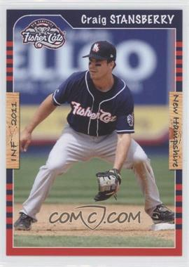 2011 Grandstand New Hampshire Fisher Cats #CRST - Craig Stansberry