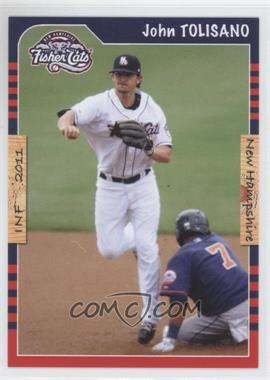2011 Grandstand New Hampshire Fisher Cats #JOTO - John Tolisano