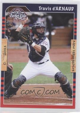 2011 Grandstand New Hampshire Fisher Cats #TRDA - Travis d'Arnaud