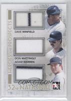 Dave Winfield, Don Mattingly, Adam Warren