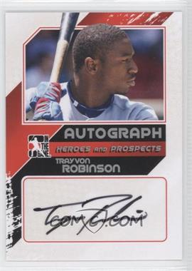 2011 In the Game Heroes and Prospects Autograph Up-Close Silver [Autographed] #A-TRO2 - Trayvon Robinson