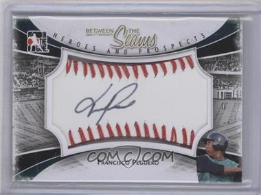 2011 In the Game Heroes and Prospects Between the Seams Red Stitch [Autographed] #BTS-FP - Francisco Peguero /30