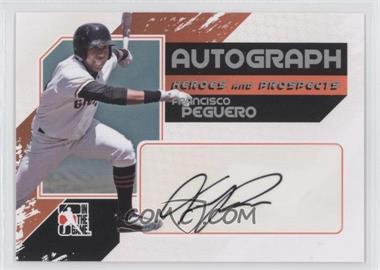 2011 In the Game Heroes and Prospects Full Body Autograph Silver #A-FP - Francisco Peguero /390