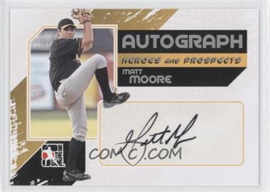 2011 In the Game Heroes and Prospects Full Body Autograph Silver #A-MM - Matt Moore /390