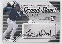 LeVon Washington #1/1