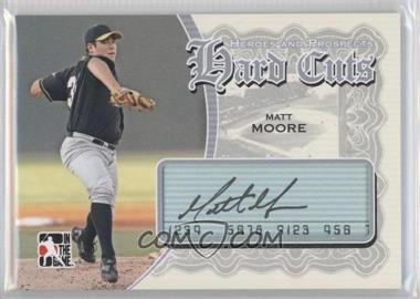 2011 In the Game Heroes and Prospects Hard Cuts Silver [Autographed] #HC-MM - Matt Moore