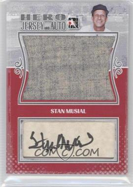 2011 In the Game Heroes and Prospects Hero Jersey and Auto Silver [Autographed] #HJA-SM - Stan Musial