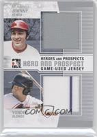 Johnny Bench, Yonder Alonso /60