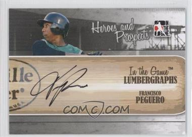 2011 In the Game Heroes and Prospects Lumbergraphs [Autographed] #L-FP - Francisco Peguero