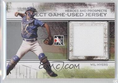 2011 In the Game Heroes and Prospects Prospect Game-Used Jersey Silver [Autographed] #PJ-19 - Wil Myers