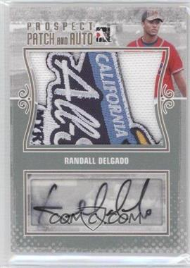2011 In the Game Heroes and Prospects Prospect Patch and Auto Gold [Autographed] #PPA-RD - Randall Delgado /1