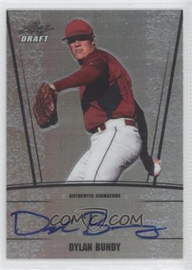 2011 Leaf Metal Draft Silver Prismatic #AU-DB2 - Dylan Bundy /99