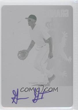 2011 Leaf Valiant Printing Plate Magenta Autographed #VA-GG2 - Granden Goetzman /1