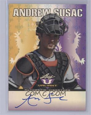 2011 Leaf Valiant Purple #VA-AS1 - Andrew Susac /25 [Near Mint‑Mint]