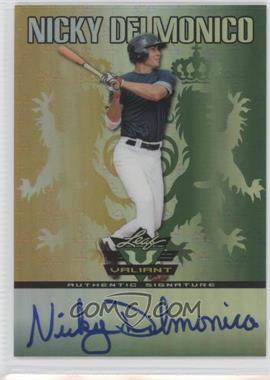 2011 Leaf Valiant #VA-ND1 - Nick Delmonico