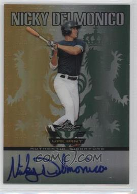 2011 Leaf Valiant #VA-ND1 - Nicky Delmonico
